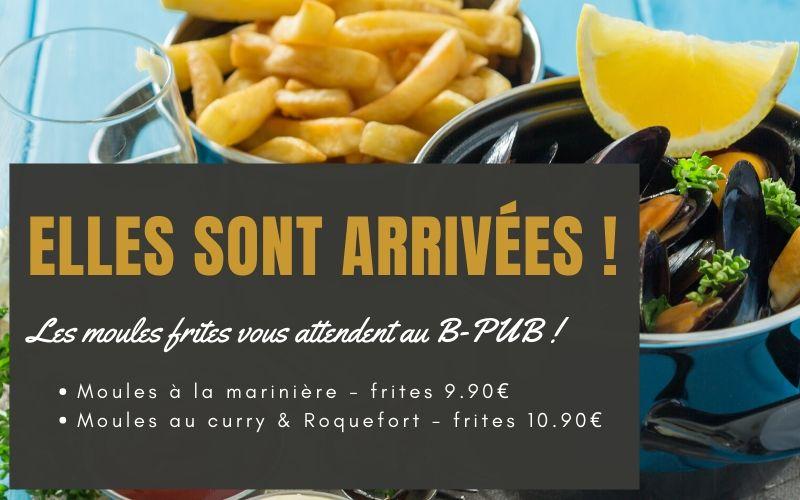 Moules frites à Niort